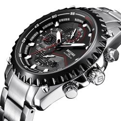 Brand Spot Mens Business Luxury Top Brand Automatic Mechanical Water Resistant Back Watch