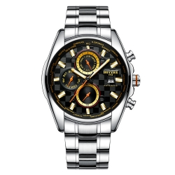 Famous Luxury Skeleton Luminous Mens Automatic Mechanical Waterproof Watch