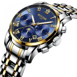 Luxury men big dial  watches automatic mechanical wristwatch