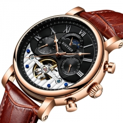 Luxurious Wrist Watch Strap Automatic Watch Movement Mechanical Luxury Automatic
