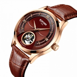 Fashion brand  mens watch tourbillon movement moon phase mechanical automatic watch luxury