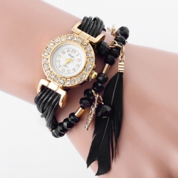 Female luxury squartz watches