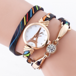 Female fashion squartz watches