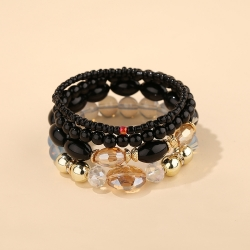New style bohemian ethnic fashion jewelry cross-border exclusively for personality large crystal bracelet factory direct sales