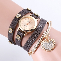 Female fashion bracelet squartz watches