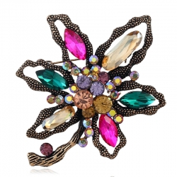 Creative Petal High-end Pin, Abstract Casual Flower Brooch