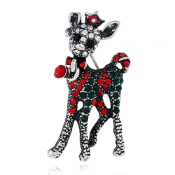 Animal diamond brooch jewelry