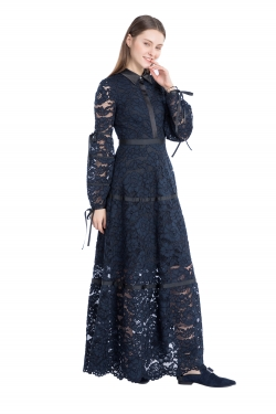 Full-Sleeve lace dress