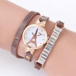New design lady female rhinestone quartz watches