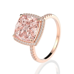 Elegant high quality fashion zircon S925 silver ring