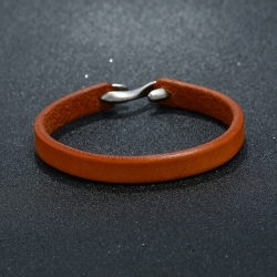 Retro simple leather bracelet mens jewelry fashion wild punk rock leather bracelet