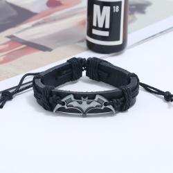 Woven cowhide bracelet