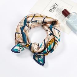 100% mulberry silk high quality elegant square scarf
