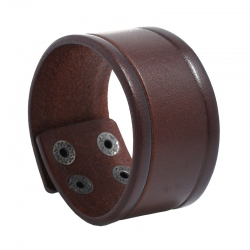 Retro leather bracelet creative simple mens punk leather bracelet