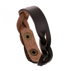 In the middle can be DIY lettering leather woven bracelet retro first layer cowhide bracelet