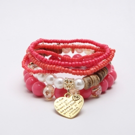 Multi-layer rice beads hand-woven original bracelets jewelry European and American jewelry wholesale