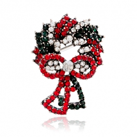 Creative Christmas Gift Garland Brooch