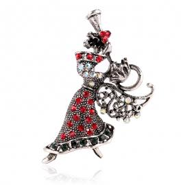 Clothing creative holiday brooch angel brooch