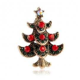 Creative christmas gift christmas tree brooch