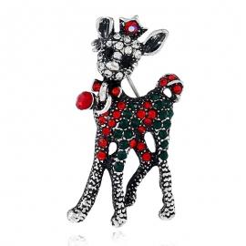 Animal diamond brooch jewelry