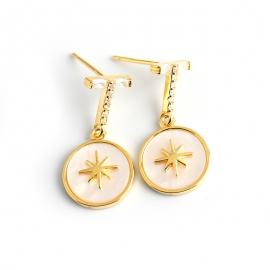 Fashionable Personalized Diamond Bessel Stone s925 Sterling Silver Earring Stud Earrings