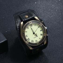 Woven suit leather bracelet cross-border a retro European and American mens leather bracelet jewelry