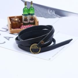 Five-circle embossed leather bracelet cross-border explosion retro mens leather bracelet bracelet