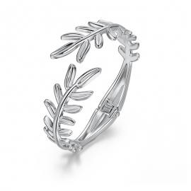 Hot selling bracelet simple wild leaf jewelry opening boutique spring bracelet