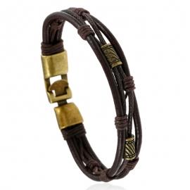 Woven leather bracelet  explosive retro leather bracelet bracelet