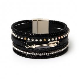 Bohemian Multilayer Bracelet Lover Gift Cupids Arrow Rivet Jewelry Wholesale