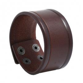 Retro leather bracelet creative simple mens punk leather bracelet