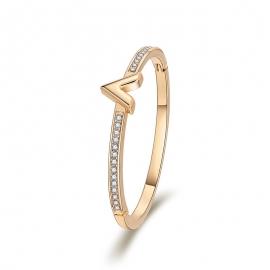 Fashion OL Bracelet 2020 New Product Bracelet Classic Wild V-shaped Diamond Fresh Minimalist Thin Bracelet for Women