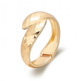 Womens bracelets European and American fashion jewelry fashion double snake head bracelet diamond cut mirror boutique gold-plated bracelet