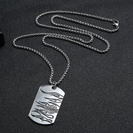 Alloy pendant mens necklace wild long hip-hop student sweater necklace