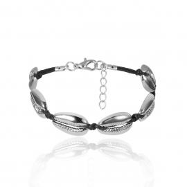 European and American cross-border jewelry Bohemian personality popular jewelry womens simple alloy wild shell beach bracelet